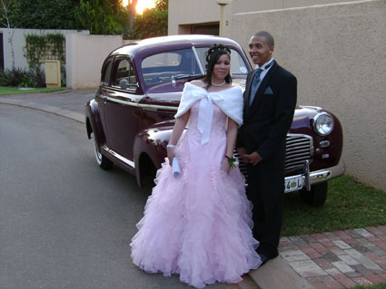 Gabrielle Anthony (Fourways High) and Clay Perreara - 26 September 2008